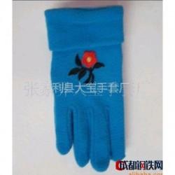 供应儿童摇粒绒保暖手套图片