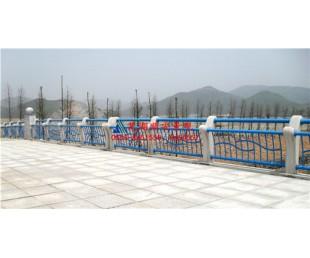 亚虎娱乐_顺安铸造石护栏,静电喷塑料+铸造石组合式产品