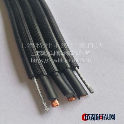 ROUS电梯电缆专用 PVC耐低温扁电线 行车天车专用 TVVB7*1随行电缆