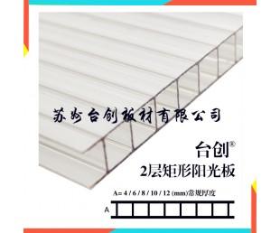 阳光板 双层阳光板 中空阳光板 阳光板厂家直销——台创品牌