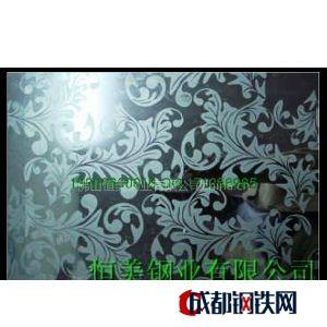 供應不銹鋼鏡面板、不銹鋼噴砂板、不銹鋼蝕刻板、不銹鋼壓花板、不銹鋼壓紋板圖片
