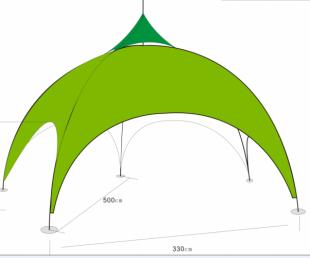 五脚帐篷,五脚广告帐篷,促销您备好了么?