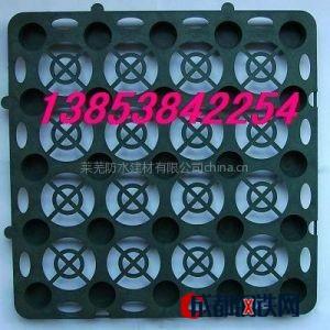 供应蓄水板塑料夹层板蓄排水板块状排水板价格