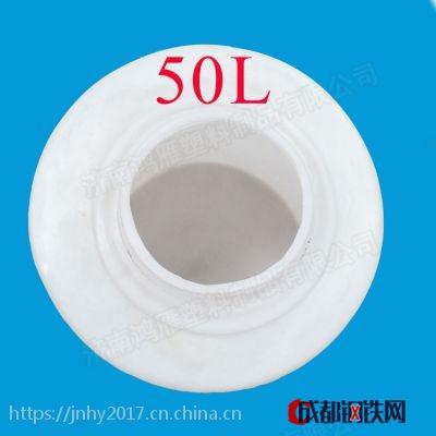 济南鸿雁食品级滚塑500L水箱、储水罐、蓄水罐、化工储罐