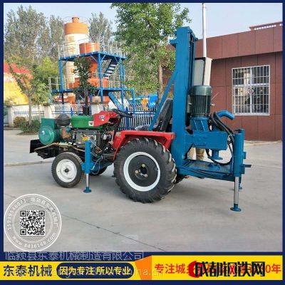 廠家直銷車載式打井機 SY-100型打井機 四輪車帶打井機