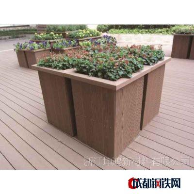 木塑花箱塑木花箱