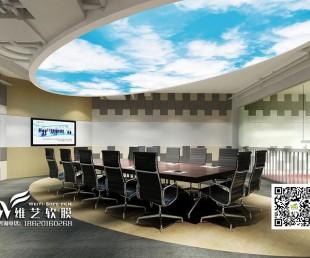 亚博国际娱乐平台_软膜吊顶 蓝天白云天花吊顶