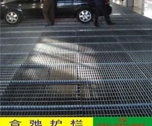化学工厂楼梯板盖 天桥人行道水沟盖板 潮州码头钢格栅图纸