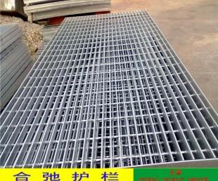 街边水沟板盖材料 镀锌扁钢踏步板价格 东莞厂房钢格栅