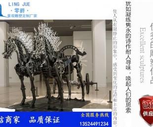 亚虎国际pt客户端_厂家直销阿波罗战车雕塑-玻璃钢金色飞天马景观设计定制