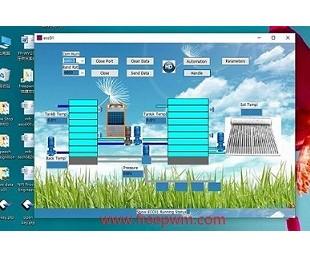 亚虎国际娱乐客户端下载_富睿自动化控制上位机软件FP-APP控制界面开发