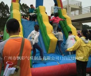 广州滑梯气模中山充气儿童城堡租赁湛江充气闯关玩具租赁