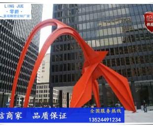 上海火烈鸟雕塑安装厂家-红鹤雕塑图片