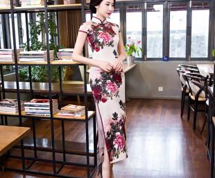 质量高的深圳连衣裙公司,买深圳连衣裙公司就找世凡服饰旗袍图片