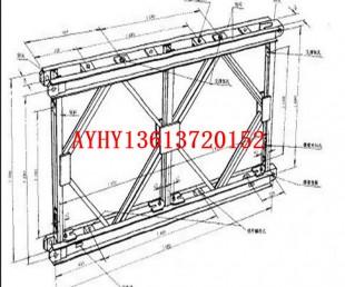 河南贝雷片厂家、定做321/200型贝雷片、加强旋杆、支撑架厂家
