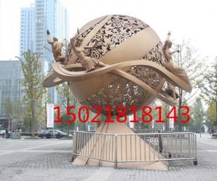 定制制作不锈钢镂空雕塑城市景观雕塑云南雕塑厂
