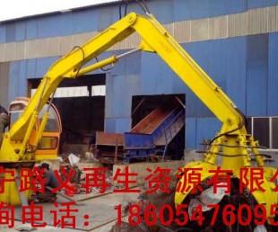 濟寧路義廠家專業定制抓鋼機 挖掘機抓鋼機 改裝抓鋼鉗