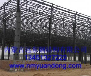 临河钢结构.临河球形网架-临河玻璃幕墙—内蒙远东钢结构幕墙公司