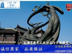 天津古代人物抚琴雕塑-对牛弹琴雕塑厂家