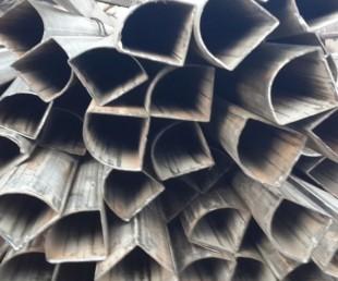 优质镀锌带扇形管生产厂家钢管