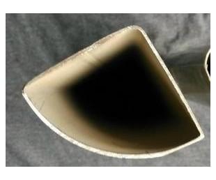 黑退扇形管制造厂家,镀锌扇形管厂家