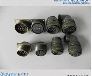 国产连接器MS3116F/MS3112E 12-10军规8芯卡口连接器