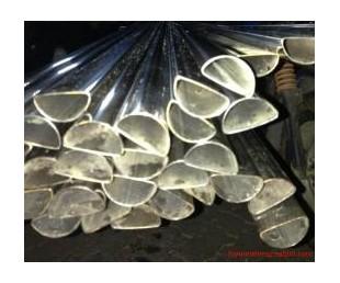 天津优质镀锌带D形管厂家钢管