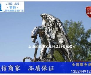 温州雄鹰飞翔雕塑 旅游景区建筑标志报价