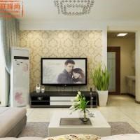 中建锦绣蘭庭103平现代简约装修效果图济南居联峰尚