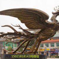 南昌供应定制不锈钢凤凰雕塑 城市景观雕塑制作 广场雕塑