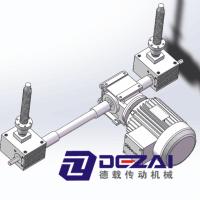 亚博国际娱乐平台_德载传动承接非标螺旋升降机|5-120T