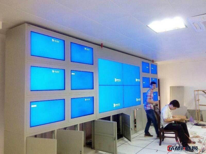 大屏立腾电视墙   可定制优质冷轧钢板材质