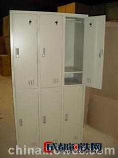 亚博国际娱乐平台_【福腾铁柜】六门更衣柜 定做6门员工储物柜 优质冷轧板