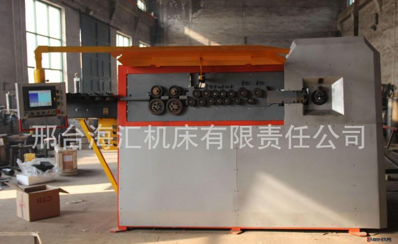 专业研发数控钢筋弯箍机 可做4-12mm双线三级螺纹钢 欢迎