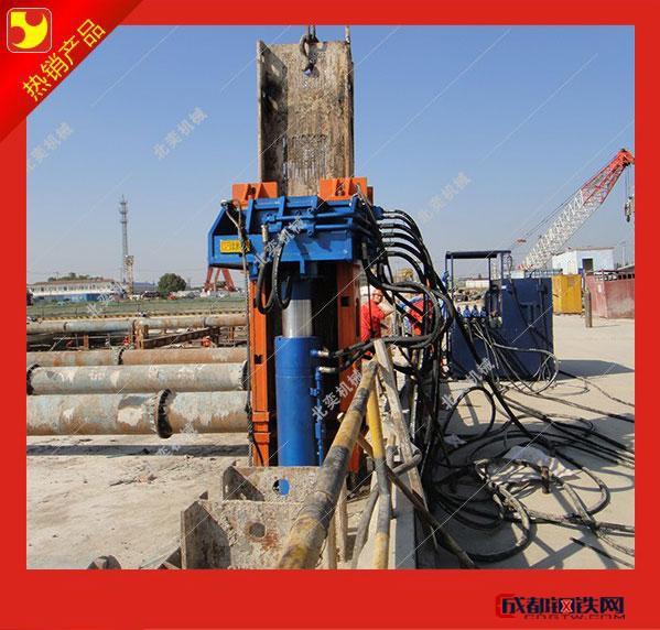 北奕机械生产BY-BZJ-700LS型ms工法大型拔桩机 拔桩机械厂家