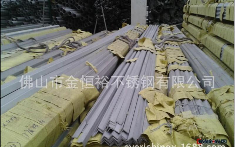 深圳316不锈钢工业角钢 角铁国标 可抛光亮镜面拉丝 耐强腐
