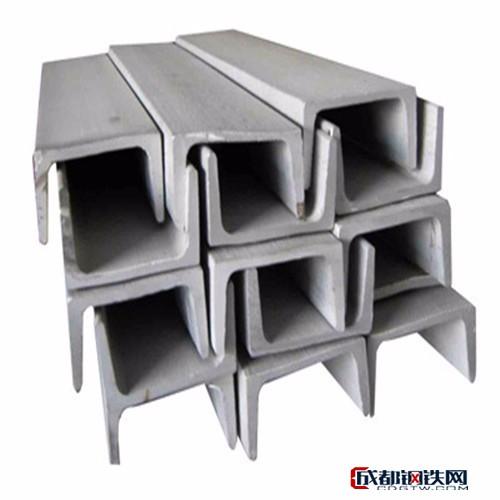 首钢Q235B热轧槽钢,不锈钢槽钢