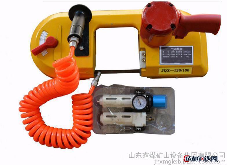 亚虎国际娱乐客户端下载_JQX-120气动线锯  槽钢、钢板专用切割锯   管道切割气动带锯