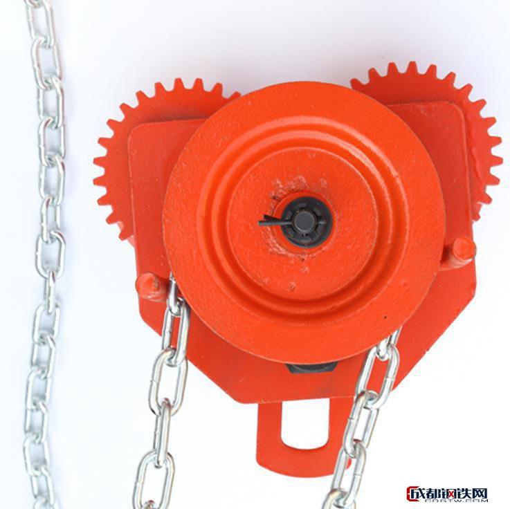 亚博国际娱乐平台_双鸟牌手拉跑车  工字钢  专业起重设备  手动单轨行车