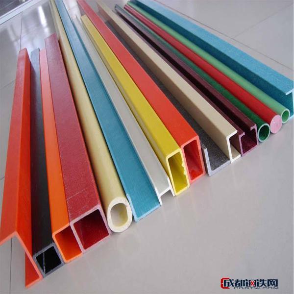 成信专业生产玻璃钢圆管   玻璃钢型材   拉挤型材采购