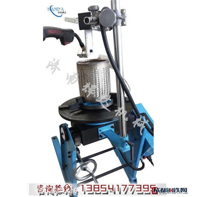 精密管法蘭焊接變位機_濟南變位機便宜_濟南焊達管法蘭焊接變位機