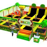 大小型淘气堡儿童乐园室内游乐场设备儿童城堡玩具闯关设施厂家