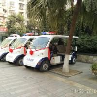 亚虎国际pt客户端_四川成都小区物业校园电动巡逻车 四轮2排3排巡逻车