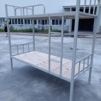 雙層鐵床,單層鐵床,學生公寓床,定制鐵床,工地用床圖片