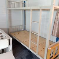 厂家直供上下铁床,双层铁床,学生公寓床,定制铁床,工地用床图片