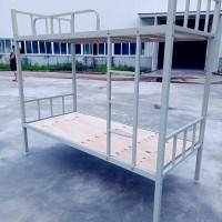 重庆铁床厂家直供,学生上下铁床,双层铁床,学生公寓床,定制铁床,工地用床图片
