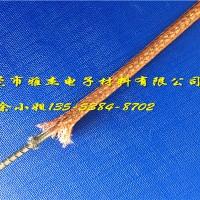 3mm寬紫銅編織線,多股銅絲編織裸銅軟線圖片