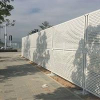 肇庆公园屏风护栏冲孔板护栏穿孔冲孔围挡佛山护栏厂家