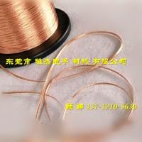 小规格铜编织线 镀锡铜编织带0.15单丝