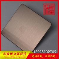304古铜拉丝不锈钢装饰板厂家生产